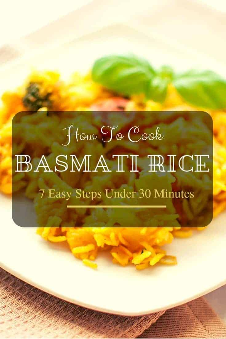 Basmati is a popular rice variety loved all over the world, you want to know how to cook #basmati rice, but no time? Here are 7 steps prepared in 30 minutes.