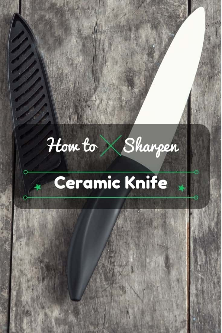 How to sharpen ceramic knives: 5 easy steps! Just another #kitchen tip to help ya out. 👨🏽🍳