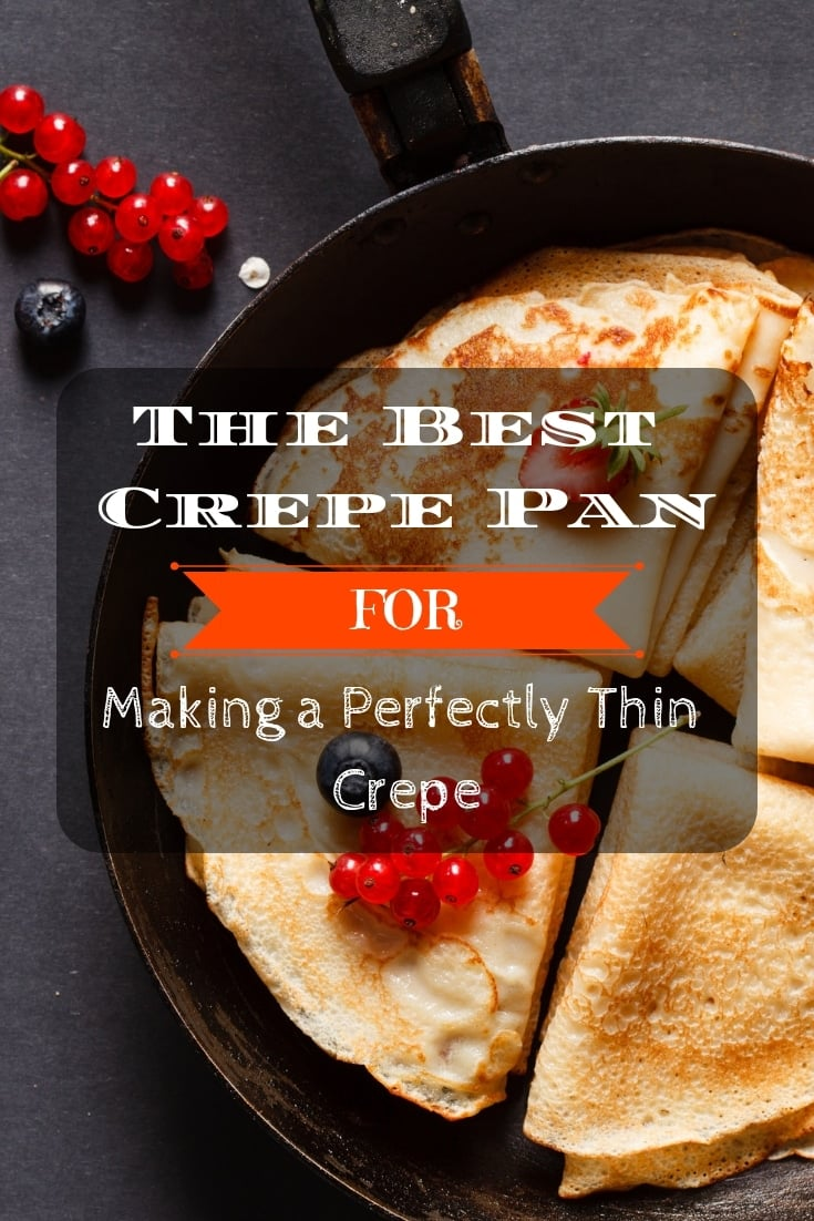 The best #crepe pan for making a perfectly thin crepe! 🥞 Here is your #kitchen tip to make your #foodie happy.