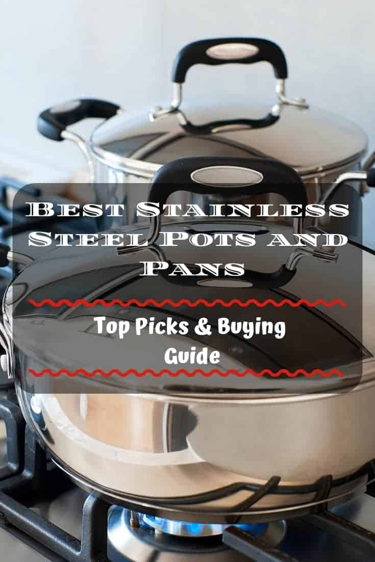 🥘 Best stainless steel #pots and #pans: Top 5 reviews & buying guide
