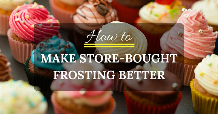 how to make store-brought frosting better