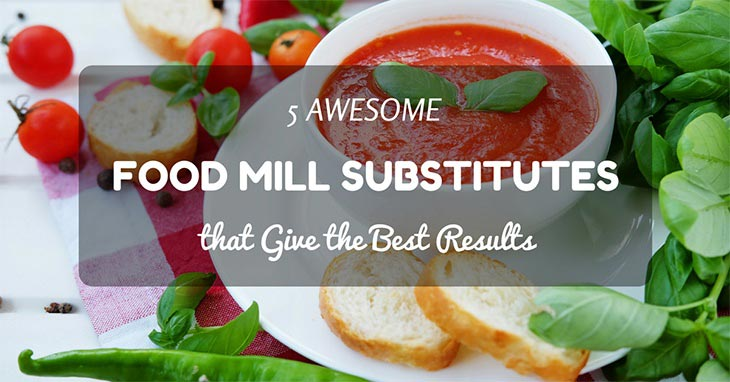 food mill substitutes