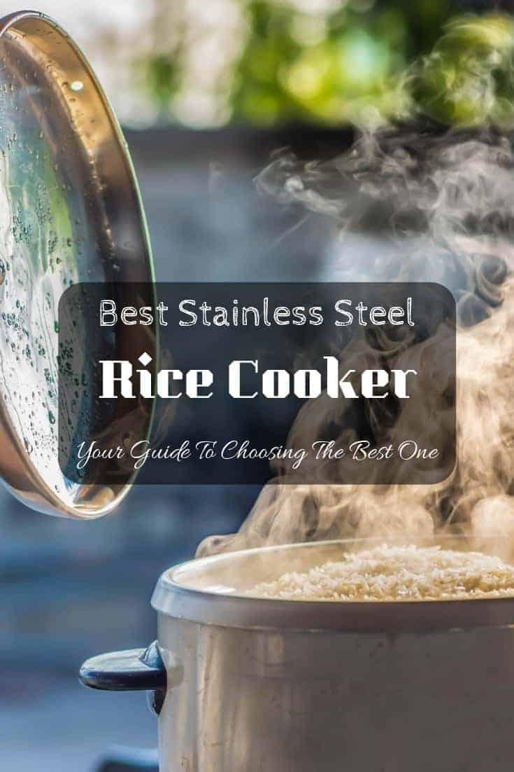🌾 Best stainless steel rice cooker: Your guide to choosing the best one for your #kitchen! #cooking