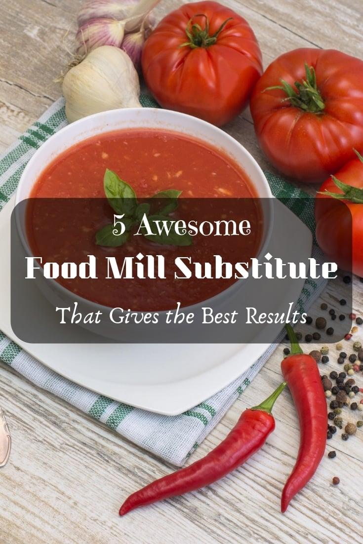 🙌 5 awesome food mill substitutes that give the best results! Here is a #kitchen #cooking tip that will actually help. 🙌