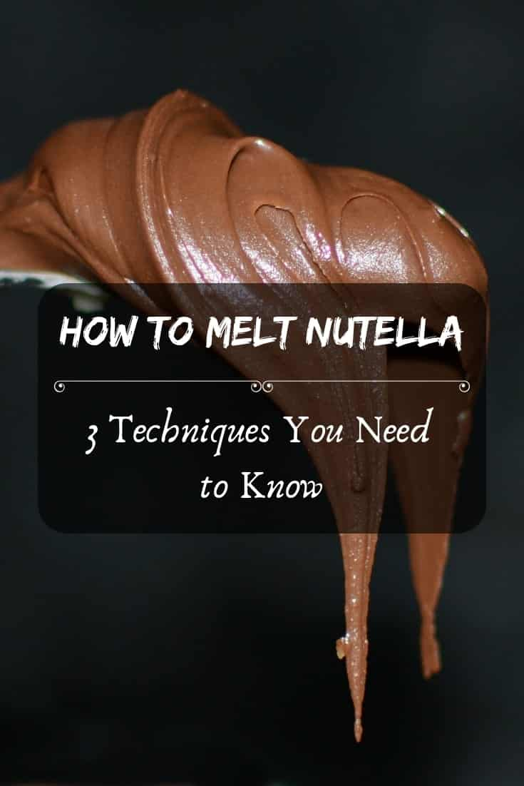 How to melt Nutella – 3 techniques you need to know! 🍞What #yummy will you make today?