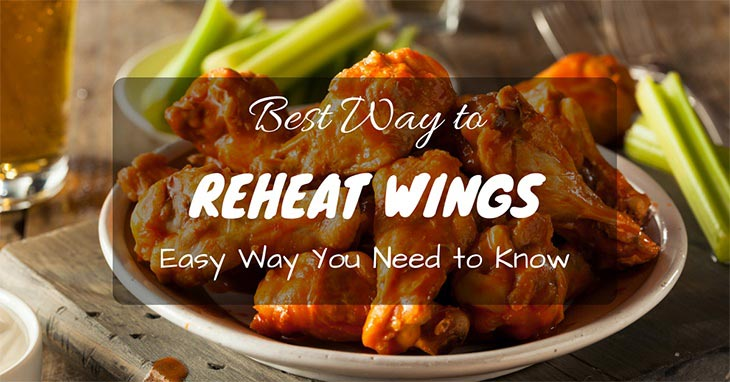 best way to reheat wings