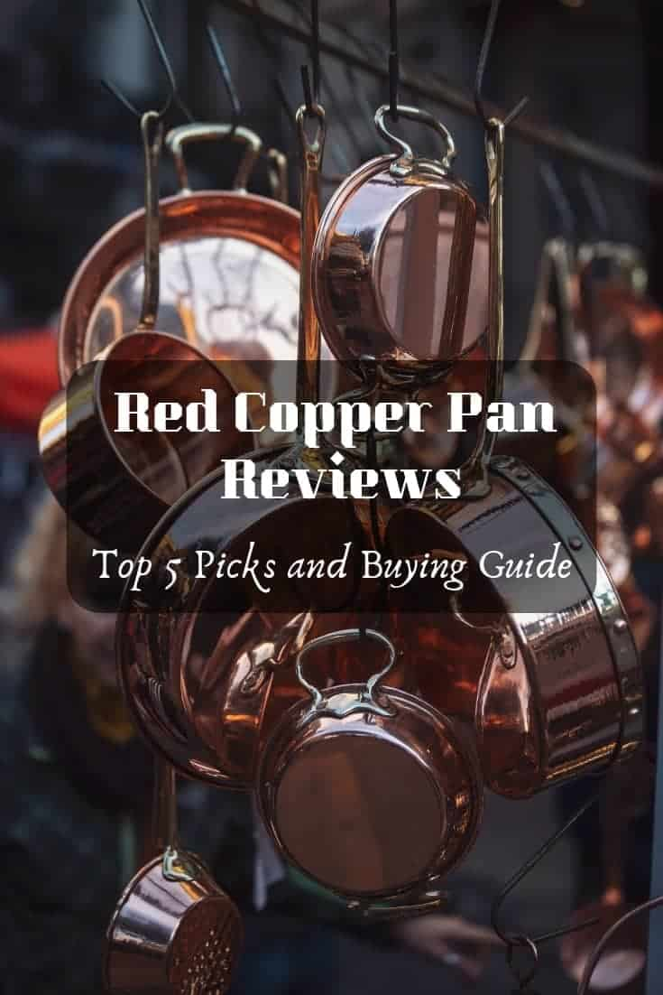 Red copper #pan reviews– top 5 picks and buying guide! #kitchenreviews Get your best cookware.