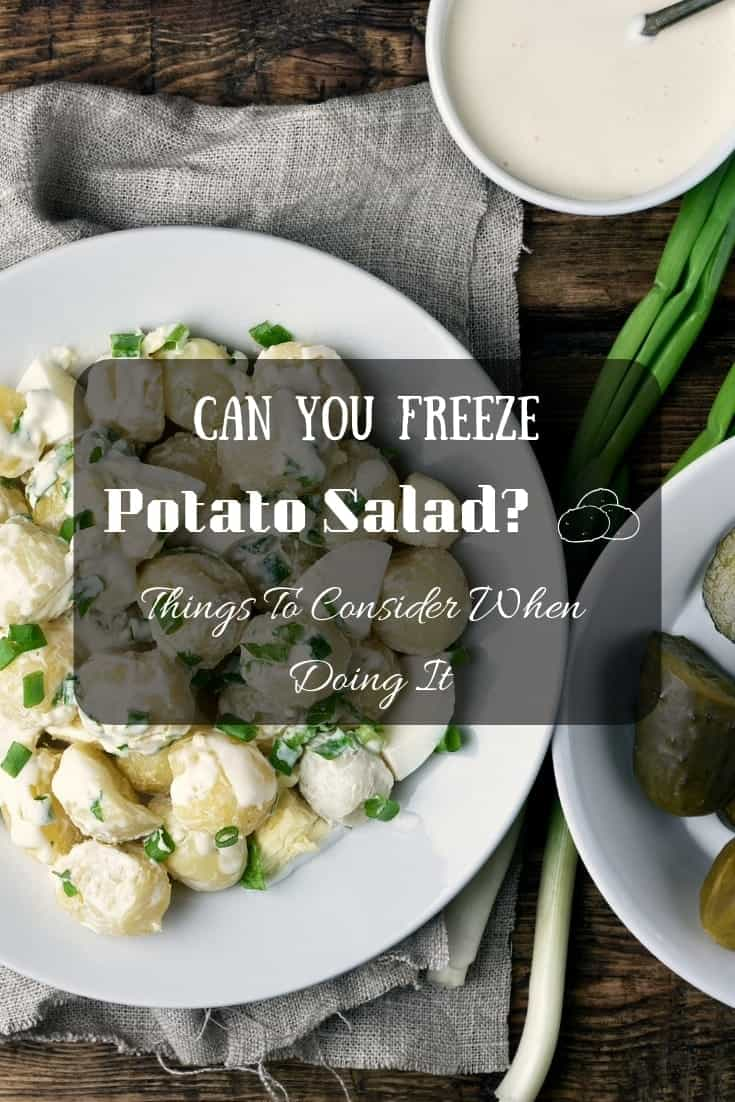 Can you freeze potato salad? #sidedishes 🍴Things to consider when doing it.