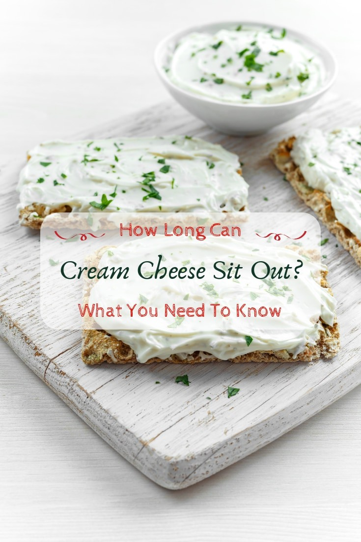 How long can cream cheese sit out? What you need to know. #kitchenhacks
