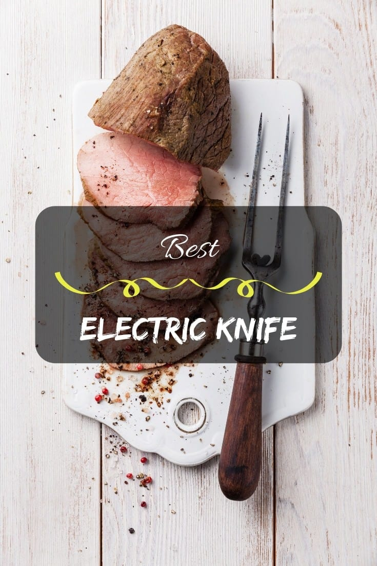 Best electric knife – the perfect electric knife for your cutting needs. ⭐️ Get the best for your #kitchen.