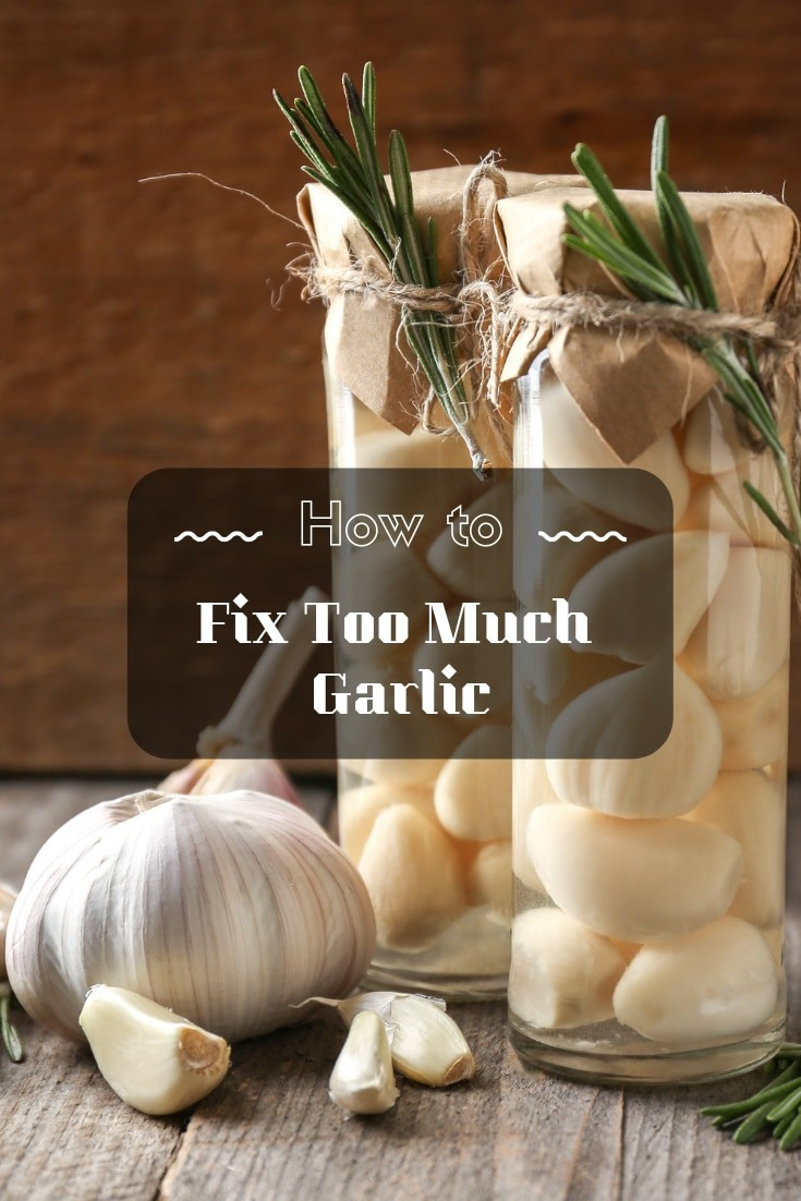 🍽 How to fix too much garlic — a complete step-by-step guide for any #cook. 🍽