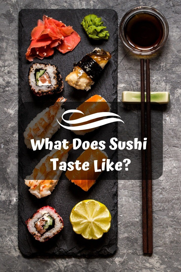What does #sushi taste like? 🍣 A complete answer will be revealed!