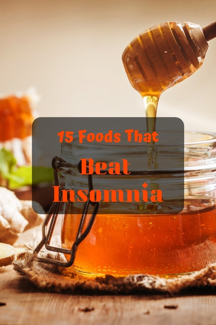 15 foods that beat #insomnia! 😴 A #healthy guide to a better nights sleep.