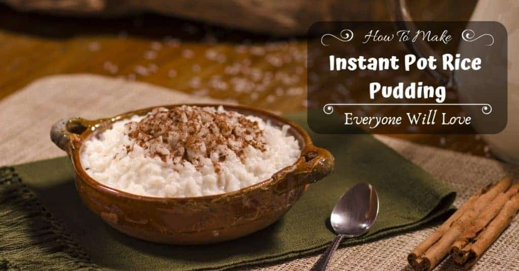 How To Make Instant Pot Rice Pudding Everyone Will Love