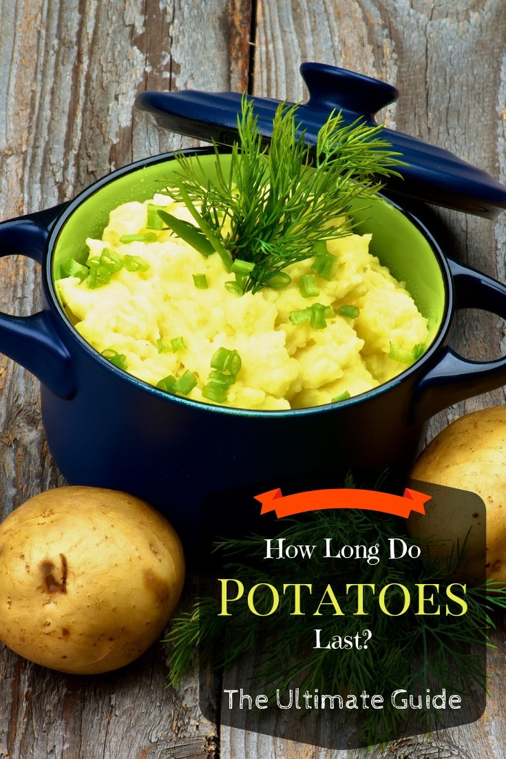 How Long Do Potatoes Last? The ultimate guide. How long do potatoes last in the fridge or freezer or after they are cooked? Get all of the answers.