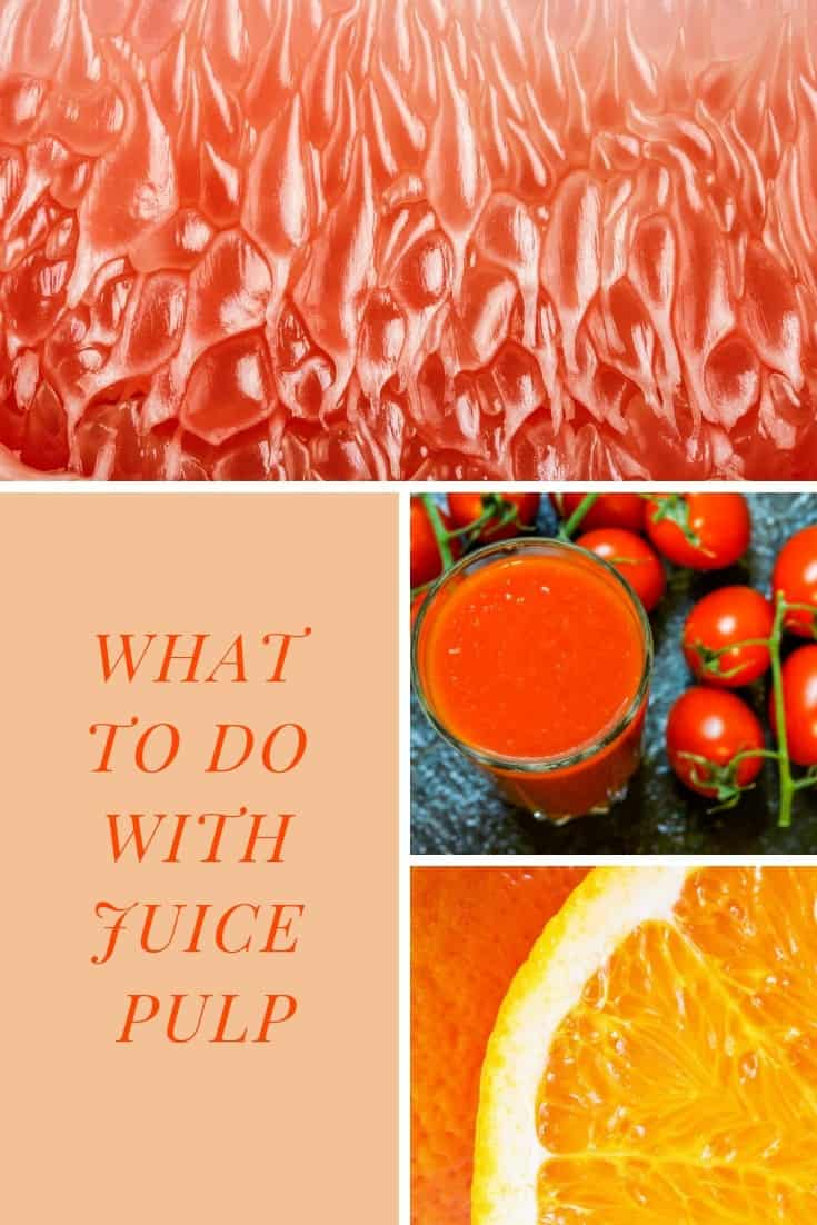 What to do with juice pulp? We have some actual unique ideas that you will want to use for your pulp. Add Extra Flavor To Pancakes. Use it to create crackers. AND More. #fruit #cooking