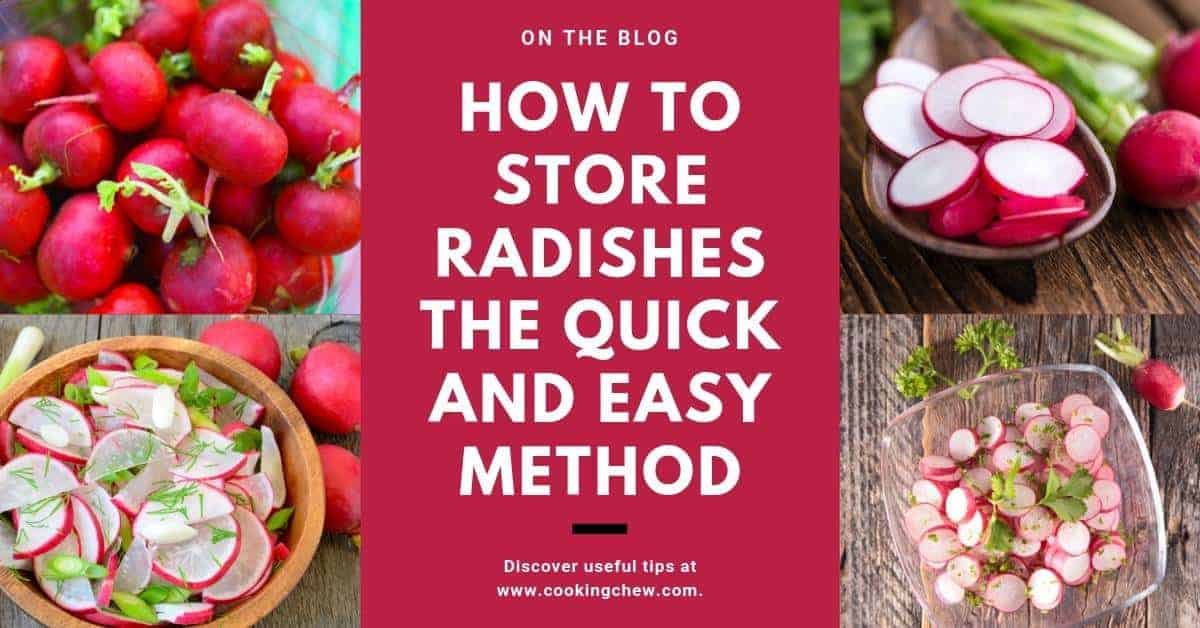 How to Store Radishes the Quick and Easy Method