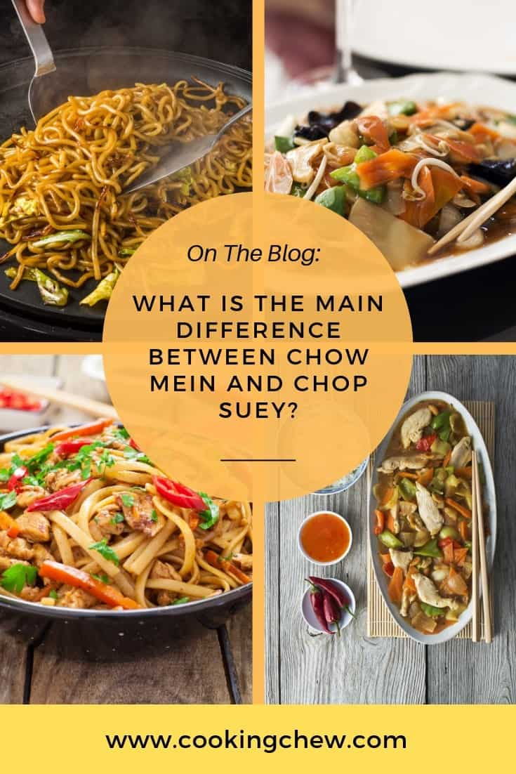 In this article, I will be breaking down two of the biggest dishes in Chinese cuisine and I will be shedding light on the main difference between chow mein and chop suey.