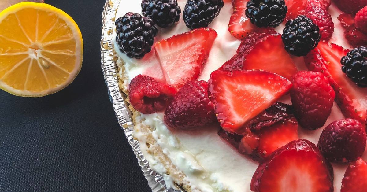 A Super Quick and Easy No Bake Pie