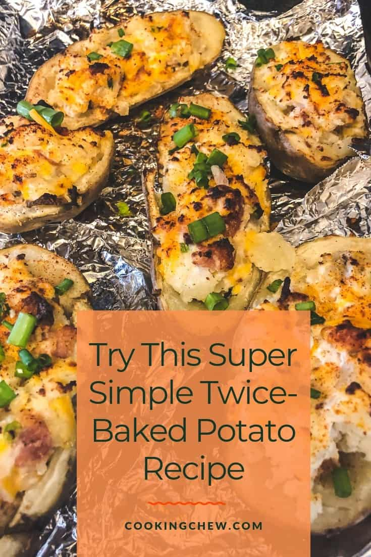 Potatoes are such a wonderful comfort food, and a twice-baked potato recipe elevates this simple veg to a flavor-packed delight everyone will love. #potatorecipe #appetizer