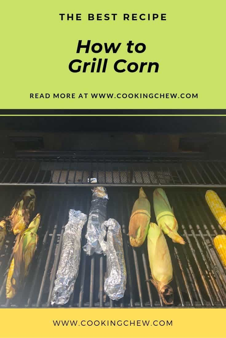 How to grill corn (4 different ways)! I grilled corn four ways just to see which way I personally liked the best. #grilling #recipes #foodies #foodporn