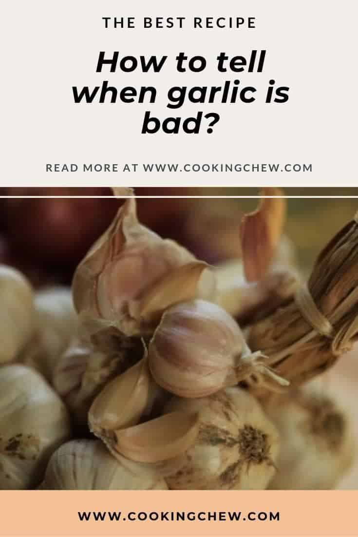 Can garlic go bad? If the garlic smells a bit off, go ahead and start your inspection. What does bad garlic look like? How to store fresh #garlic. #cooking