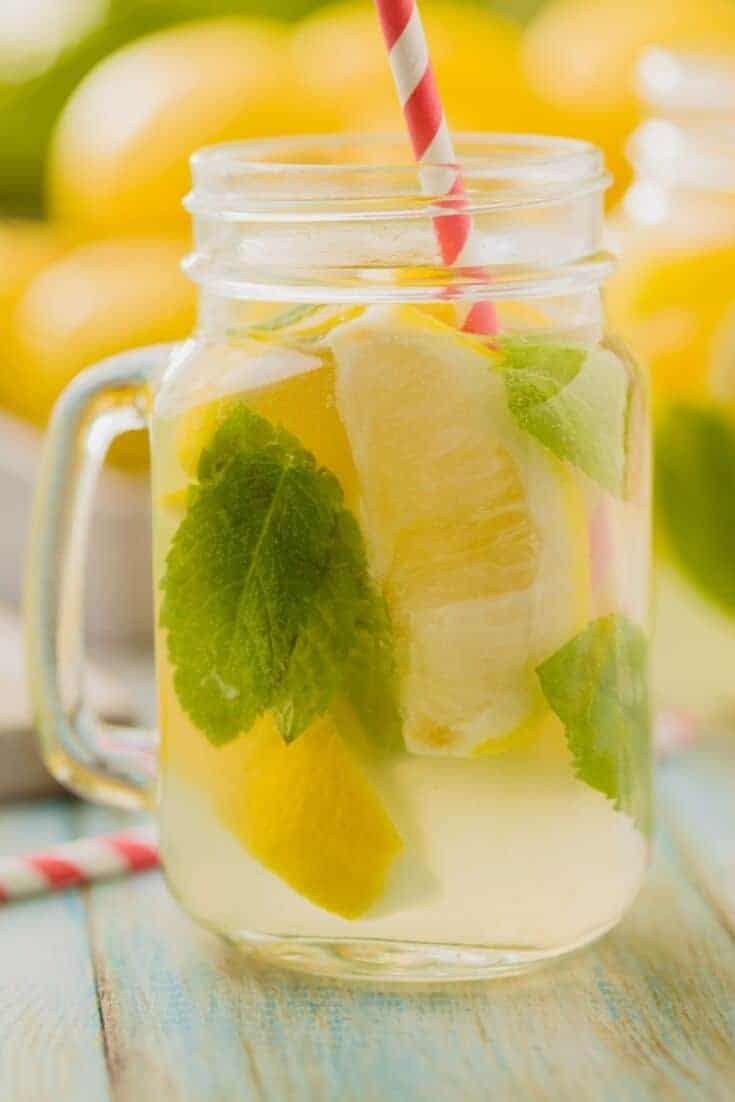 This is a recipe for homemade lemonade with lemongrass and fresh ginger. Homemade lemonade is a wonderful treat on a hot summer day.  #cooks #RecipeOfTheDay #lemonade