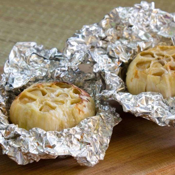 How to Roast Garlic in Air Fryer