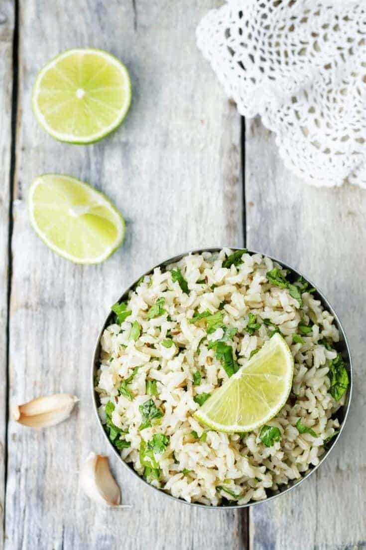 Learn how to make cilantro lime rice and spruce up your next meal with the tangy, spicy, and herby flavors that go with almost any cuisine! WE LOVE THIS RECIPE!  #Cilantro #Recipe #InTheKitchen