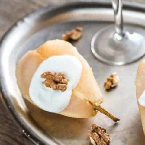 How To Make Delicious And Quick Poached Pears