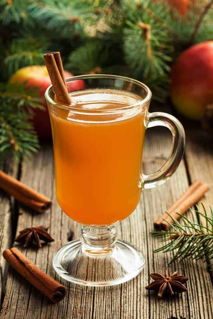 This easy and delicious apple cider recipe is the perfect drink for a cold fall night. You can create a  batch ahead of time and enjoy it chilled or warm.  #Cider #FunDrinks #Recipes