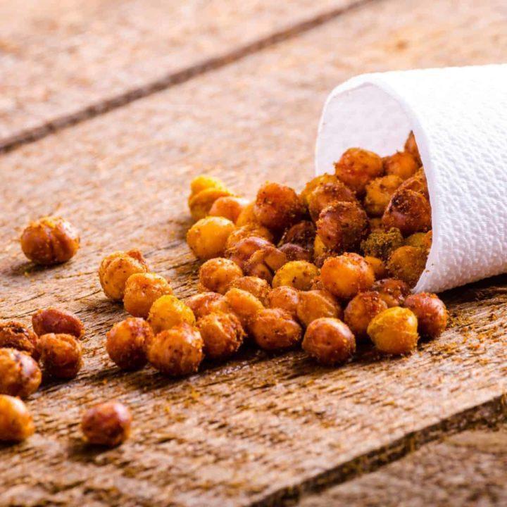 How to roast chickpeas