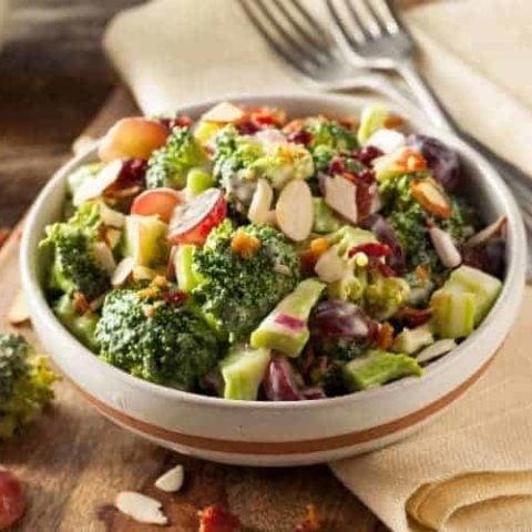 Creamy Broccoli Salad Recipe