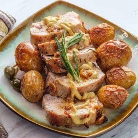 Mustard Pork Chops Recipe