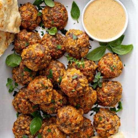Sausage Balls Recipe (classic with cheese)