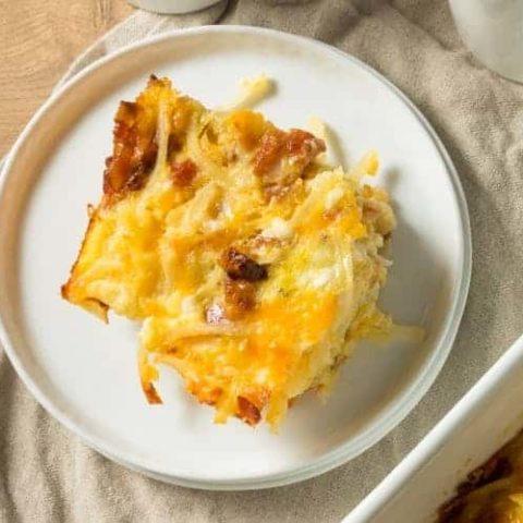 Sausage Potato Casserole Recipe