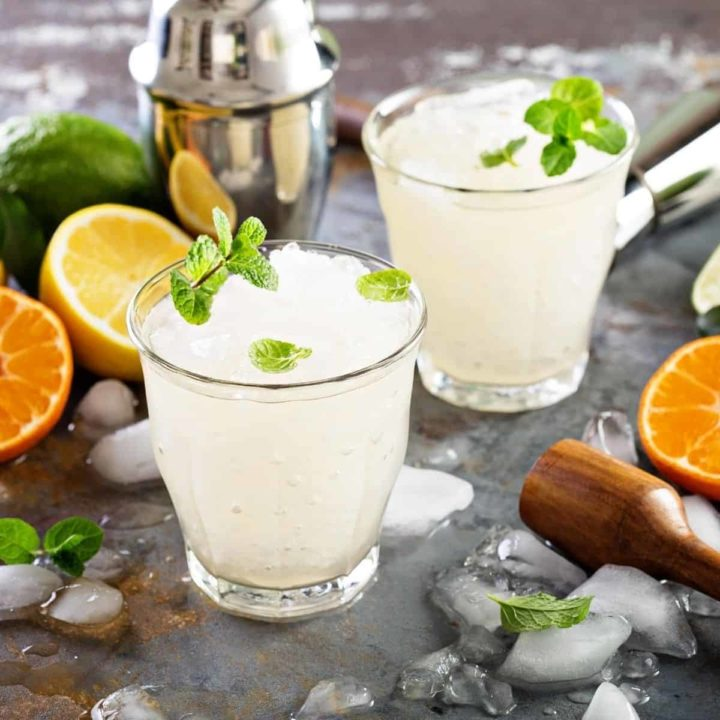 Frozen drink recipes