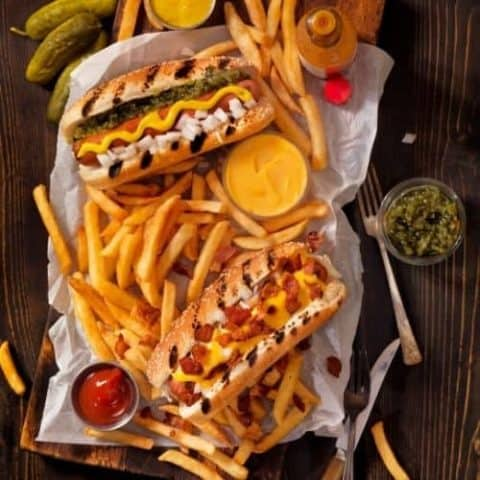 hot dog topping ideas