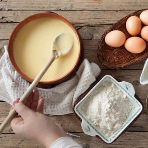 Simple custard recipe