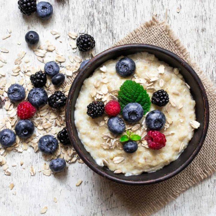 How to reheat oatmeal in the microwave