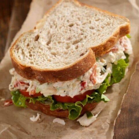 17 chicken salad sandwich sides