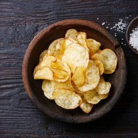 Sea Salt And Malt Vinegar Chips