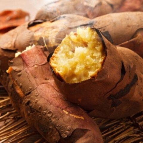 Microwaved Sweet Potato Recipe