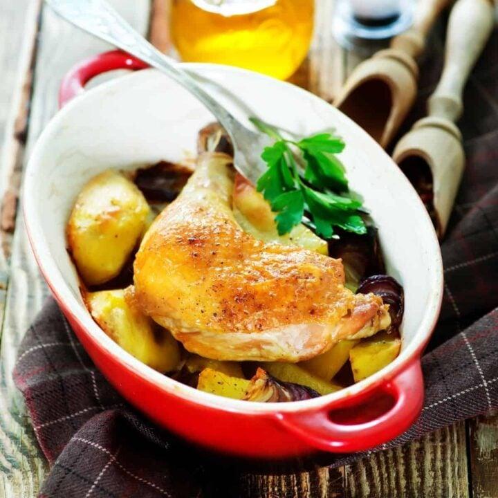 Baked Chicken Leg Quarter Recipes